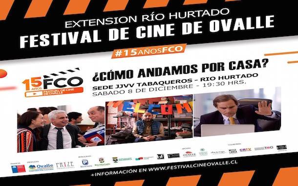 Festival de Cine de Ovalle realizará exhibición de película chilena en Río Hurtado