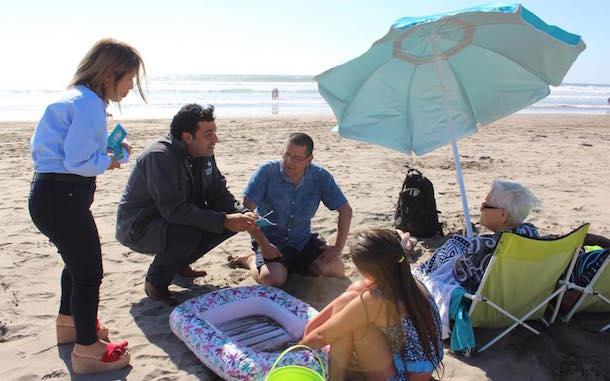 Sanciones de casi 5 millones de pesos a quien obstaculice el acceso a las playas