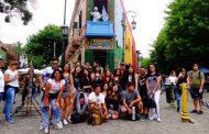 Estudiantes ovallinos vivieron experiencia gastronómica en Buenos Aires