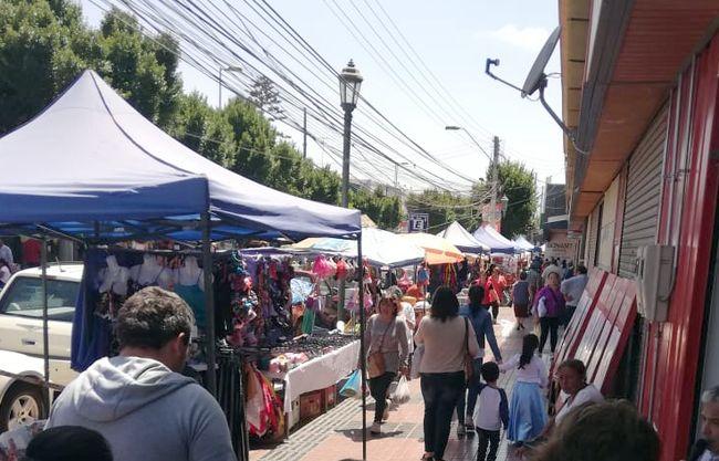 Comerciante reclama por presencia de comercio ambulante