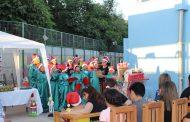 Comunidad del Hogar María Ayuda festejó la Navidad con villancicos y regalos