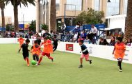 """Futbolito: los """"peques"""" se tomaron la Plaza de Armas en la mañana de hoy"""