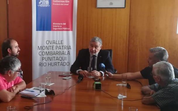 Iván Espinoza Bardavid asume como Gobernador de Limarí