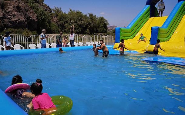 Abren parque acuático en Los Peñones