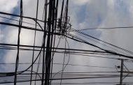 Llaman a denunciar el robo de cables eléctricos
