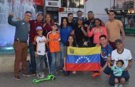 Colonia venezolana en Ovalle se manifiesta en contra de Maduro