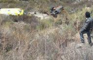 Identifican a fallecido en volcamiento de retroexcavadora en El Talhuén