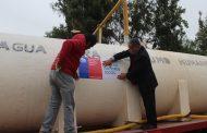 Destacan función de camiones aljibes para mitigar efectos del déficit hídrico provincial