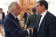 Alcalde Camilo Ossandón solicita al Ministro del Interior más medidas de seguridad para Monte Patria
