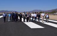 FotoNoticia: Inauguran nueva pista en aeródromo de  Tuquí