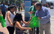 Incentivan uso de bolsas reutilizables en la provincia de Limarí