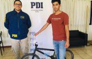 PDI recupera bicicleta sustraída en pueblo de Limarí.