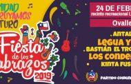 Partido Comunista de Ovalle  invita a celebrar su tradicional Fiesta de Los Abrazos