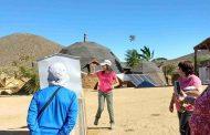 Turismo: Productora de Combarbalá sorprende a visitantes con casa y parcela sustentable