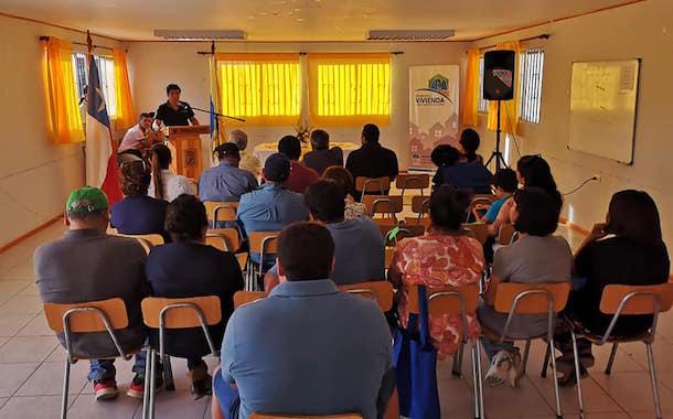 Cada vez más cerca el sueño de la casa propia para 22 familias de Sotaquí
