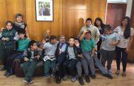 Niños del Colegio Yungay llenan de alegría la Gobernación de Limarí