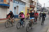 Cicletada Familiar reunió a 200 participantes en Ovalle
