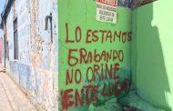 FotoNoticia: Habitantes de céntrica calle se aburrieron de maleducados que usan su calle como baño