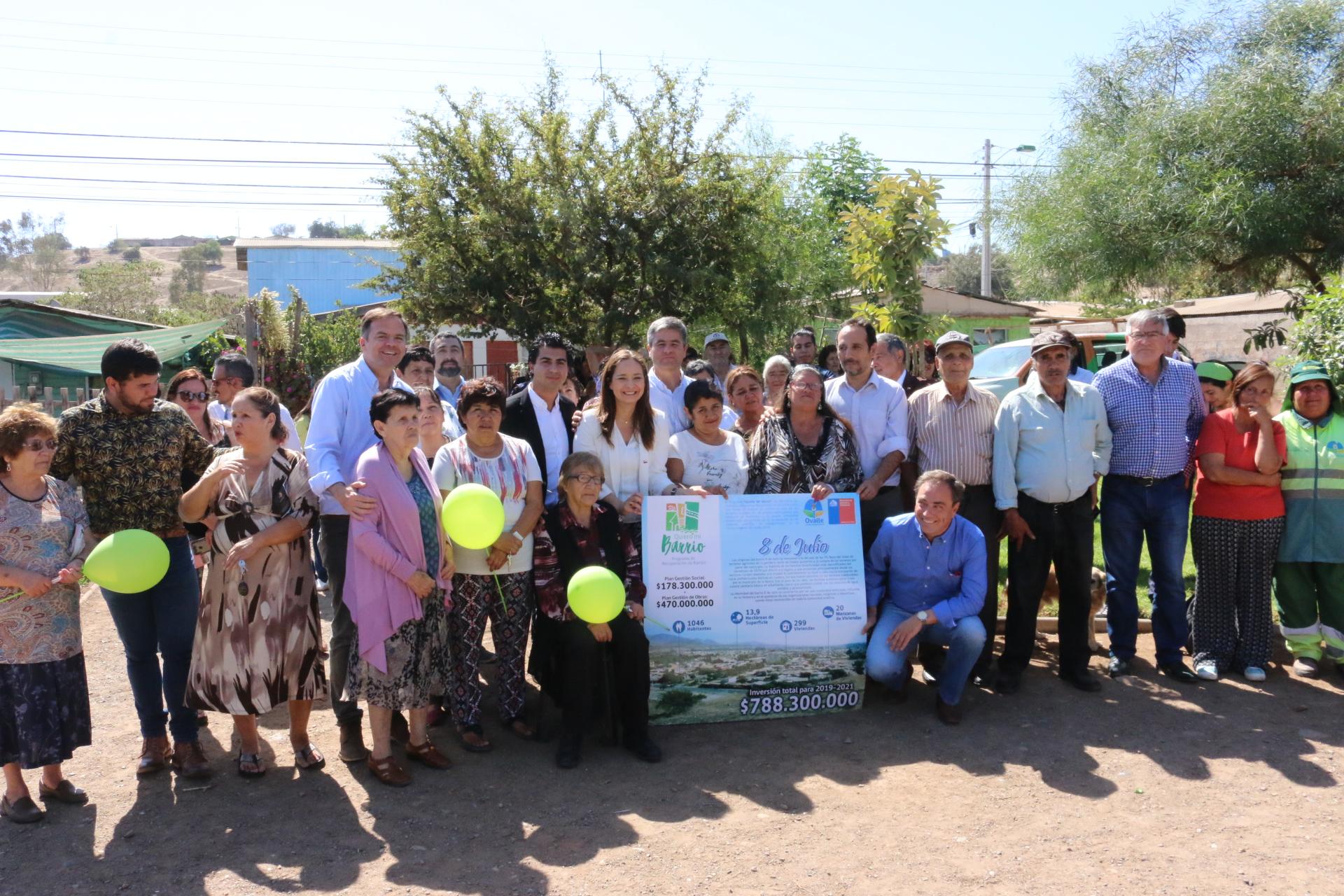 Población 8 de Julio es beneficiada con $788 millones para mejorar espacios públicos
