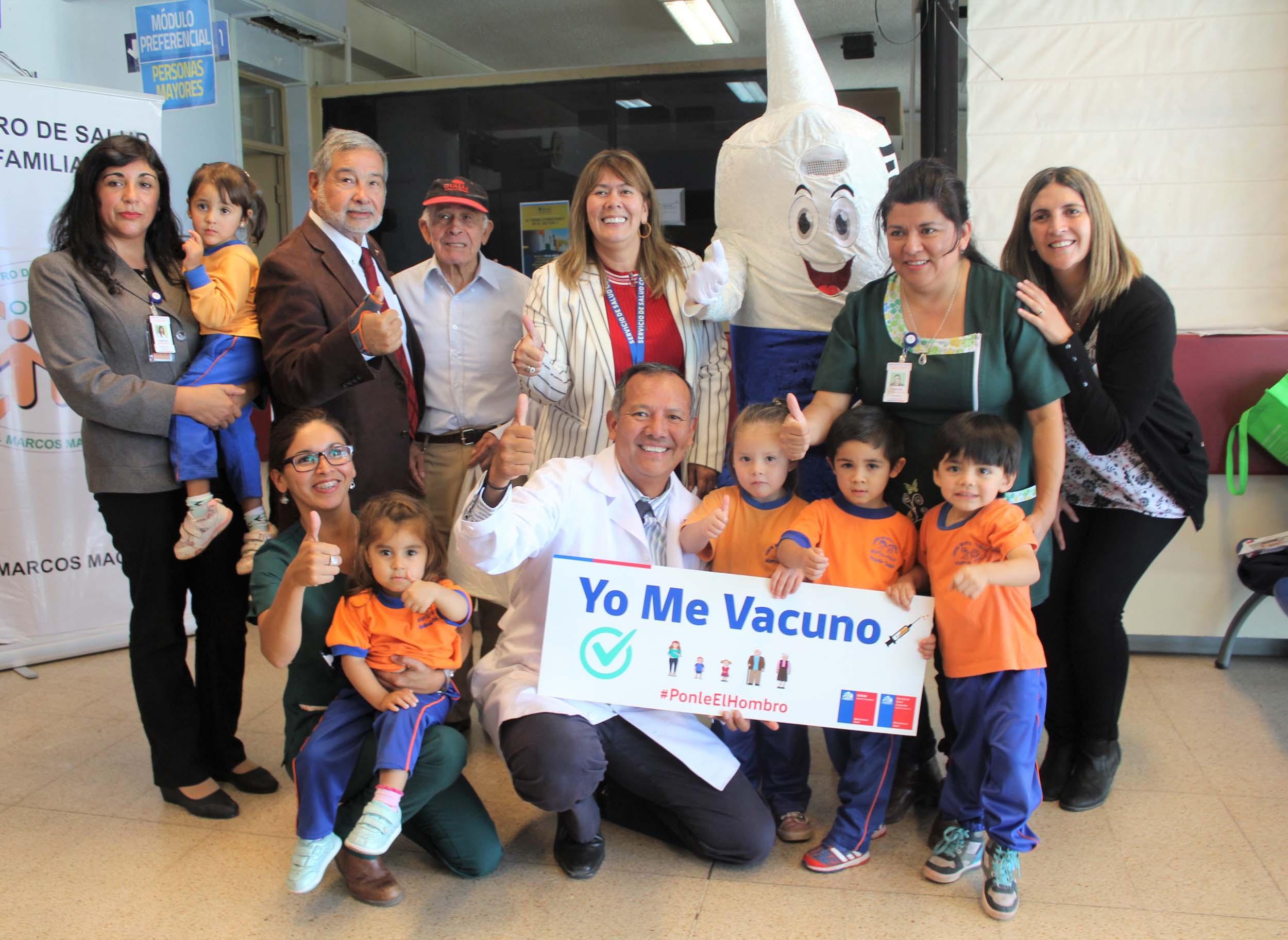 Campaña de vacunación contra la Influenza: Más de 60 mil personas serán inmunizadas en la provincia del Limarí