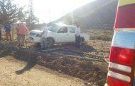 Camioneta vuelca en ruta al Altar: presuntamente era conducida por un menor de edad