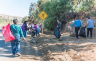 Comunidad parroquial de Punitaqui realizó operativo de recolección de basura