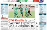 Prensa nacional destaca goleada del Deportivo Ovalle el fin de semana