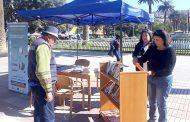 Biblioteca de Ovalle salió a la calle para celebrar la Semana del Libro