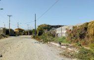 Vecinos de la Villa Las Palmas tienen un grave problema por el polvo en suspensión.