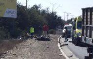 Motorista pierde la vida en colisión registrada en la costanera de Ovalle
