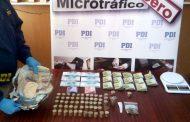 Cae pareja acusada de vender droga en la población El Manzano