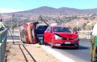 Nuevo accidente vehicular en avenida Costanera