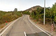 Vehículo menor accidentado en sector Santa Cristina: concurre bomberos