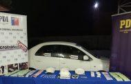 Choapa: Sacan de circulación más de 21 mil dosis de cocaína base en Illapel