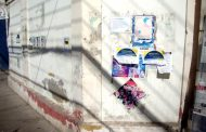 Que fea impresión dejan los muros de calles céntricas cubiertos de papeles y rayados