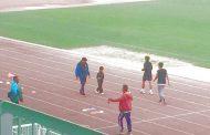 Atletas del Club S2000 Ovalle vuelven a entrenar en el estadio Diaguitas