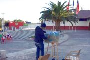 """Inédita """"pincelada"""" en Centro Cultural de Ovalle"""