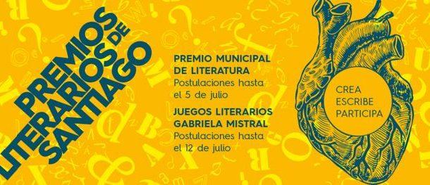 Llaman a participar en juegos literarios de la Municipalidad de Santiago