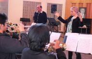 Instrumentista canadiense realiza taller musical a estudiantes del Colegio de Artes Eliseo Videla Jorquera