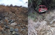 Tragedia en Chañaral de Carén: camioneta cae a un barranco