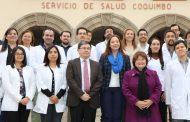 Hospitales de Coquimbo, La Serena, Ovalle e Illapel recibirán 33 nuevos médicos especialistas