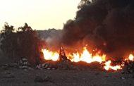 Investigan posibles delitos asociados a incendio registrado en campamento de la Costanera
