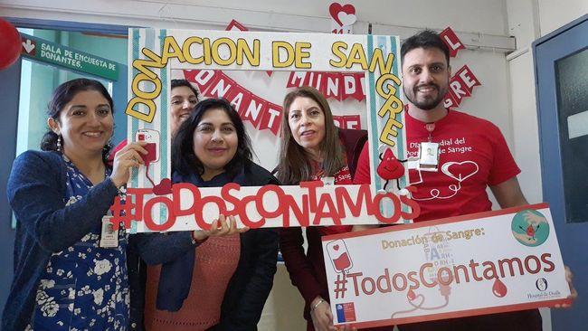 Con campaña solidaria celebraron el día del donante de sangre: gota a gota se salva una vida