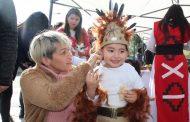 Parvulitos ovallinos celebran el Año Nuevo Indígena