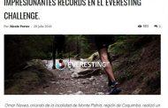 Destacan impresionante record de atleta limarino en Everesting Challenge