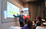 Niñas y niños ovallinos aprendieron chino mandarín en las vacaciones de invierno