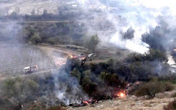 """""""Bomberos de la provincia estamos trabajando solos para enfrentar emergencias rurales"""""""