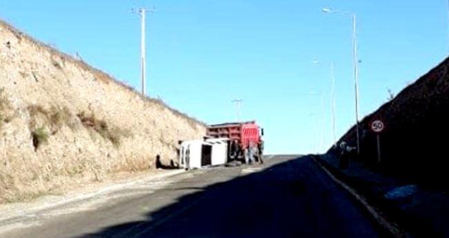 ¿Mal estado de la carretera responsable de accidente?