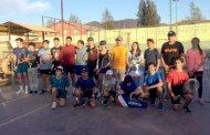 Preparación conjunta de tenistas menores del Limarí