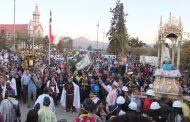 Fervor en la tarde del domingo en el Santuario del Niño Dios de Sotaquí